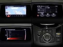 手元の感覚でナビが操作できるため、運転中の画面注視時間を大幅に低減することが出来ます。