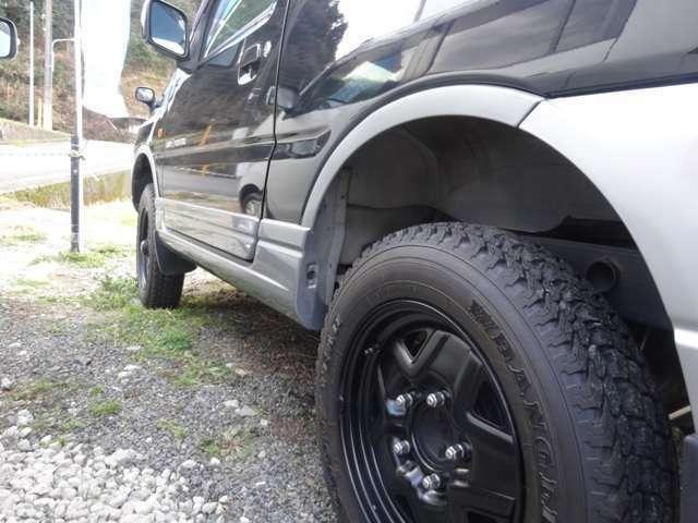 新品タイヤ取り付け済み!