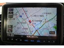 純正メモリーナビ(VXM-155VFEi) フルセグTV BlueThoothAudio DVD機能搭載!