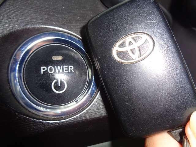 ☆スマートキー&プッシュスタート☆鍵をポケットやバッグに入れたままで鍵の開閉、エンジン始動可能がです♪
