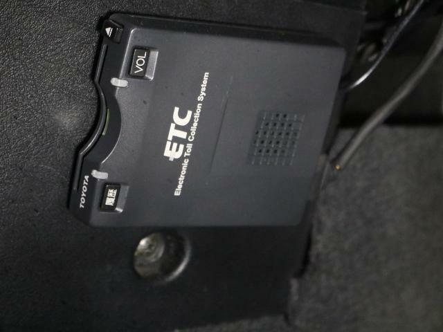 ETCも装備!!後から付ける手間も無く、高速もスマートに乗れます!!