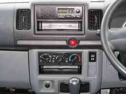スピーカー内蔵型のAM/FMラジオ♪ラジオで気になるニュースや天気予報をチェック!快適なドライブを!!