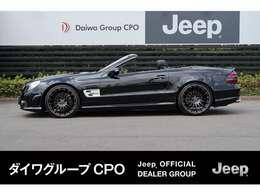 弊社グループ会社BMW正規販売代理店よりお下取りで入庫いたしました。「出どころがハッキリしている。」メルセデスベンツ SL550 です。