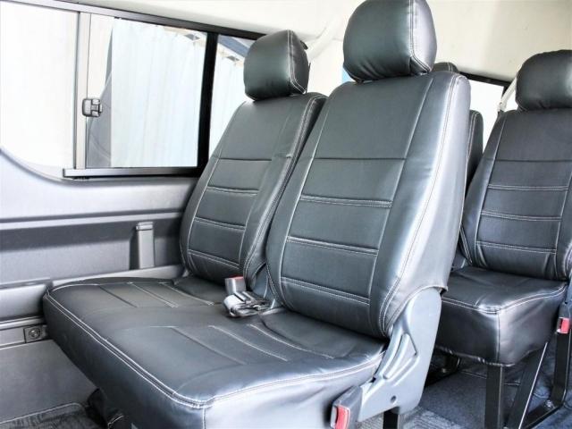 座席をリクライニング加工をしてより快適に乗って頂く事も可能です!ご相談ください。