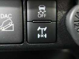 デフロック デファレンシャルギヤの差動機能をロックした状態およびその機構で差動機能をロックすることで駆動輪の空転を抑え、悪路走破性を向上させています!
