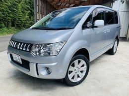 三菱 デリカD:5 2.4 G パワーパッケージ 4WD ワンオナ/フルセグTV/CD/DVD/両側パワスラ