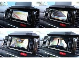7インチワイドフルセグSDナビにはPVM・バックカメラの映像が映ります!
