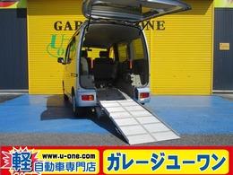 ダイハツ アトレーワゴン 660 フレンドシップ スローパー リヤシート付仕様 電動ウインチ 福祉車両