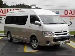 トヨタ ハイエース 2.7 グランドキャビン 4WD 後席モニター