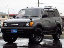 トヨタ ランドクルーザープラド 3.0 TZ ディーゼルターボ 4WD 丸目換装 新品タイヤホイール