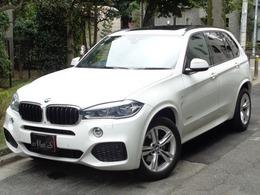 BMW X5 xドライブ 35d Mスポーツ 4WD 7人乗車 セレクトP パノラマルーフ リアTV