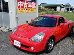 トヨタ MR-S 1.8 Vエディション ファイナルバージョン レザーシート 純正ハードトップ 純正アルミ