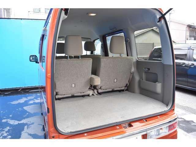 トランクスペースもきちんと確保されております!!アトレーワゴンは車内も広いですので多くの荷物を積んで頂けますよ!!広々快適にカーライフを送って頂けます!!オススメの車輛です!!
