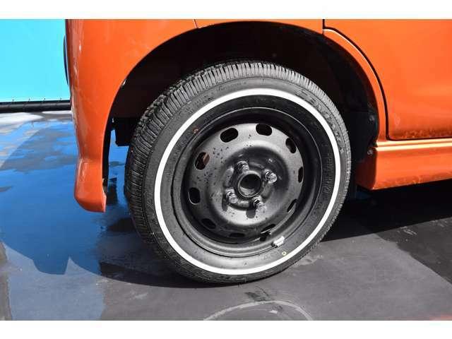 新品タイヤ装着です!納車後すぐに交換の心配もいらず安心ですよ!快適にカーライフをお過ごし頂けますよ!お気軽にお問合せ下さいね!