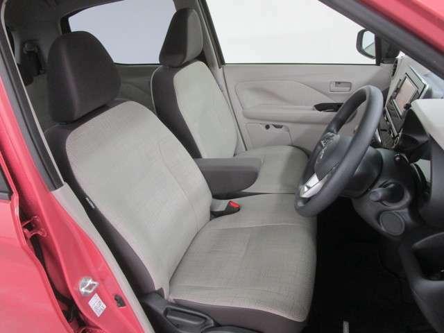 座り心地の良い、フロントシートです!
