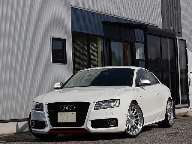 Audi S5 V8 4.2L TWS鍛造20インチAW!