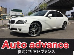 BMW 7シリーズ 740i 22AWタイヤ新黒革 Pシート SR Rセン