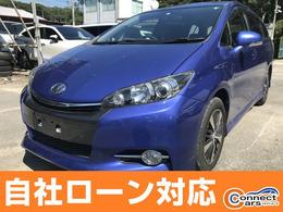トヨタ ウィッシュ 1.8 S ワンオーナー車 スマートキー 純正HDDナビ