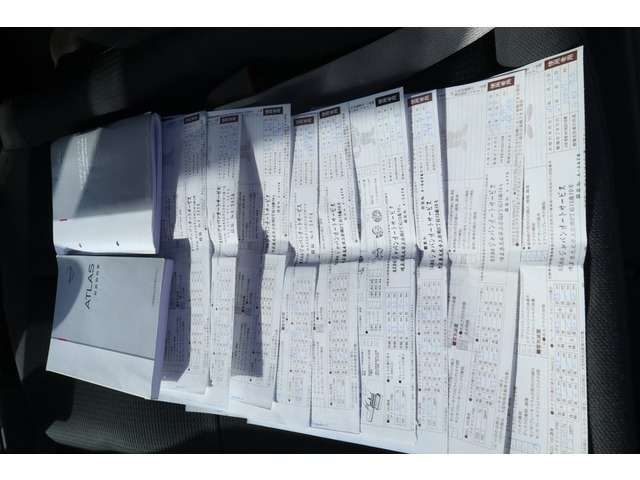 メンテナンスリースアップ車両に付、記録簿あります!