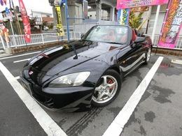 ホンダ S2000 2.0 電動オープン 赤革シート エアロ純正16AW
