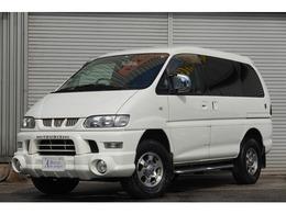 三菱 デリカスペースギア 3.0 アクティブフィールドエディション ハイルーフ 4WD ワンオーナー ナビTV タイベル交換済