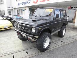 スズキ ジムニー 660 バン HC 4WD リフトアップ公認車ホイール2組付き