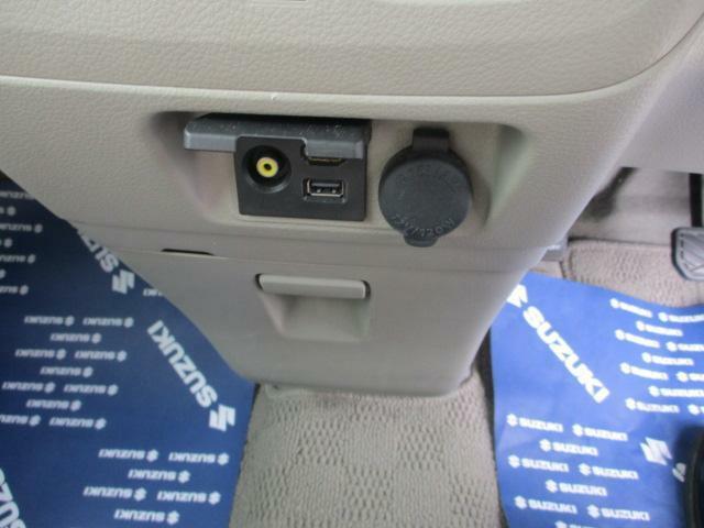 USBやRCA端子が付いています。