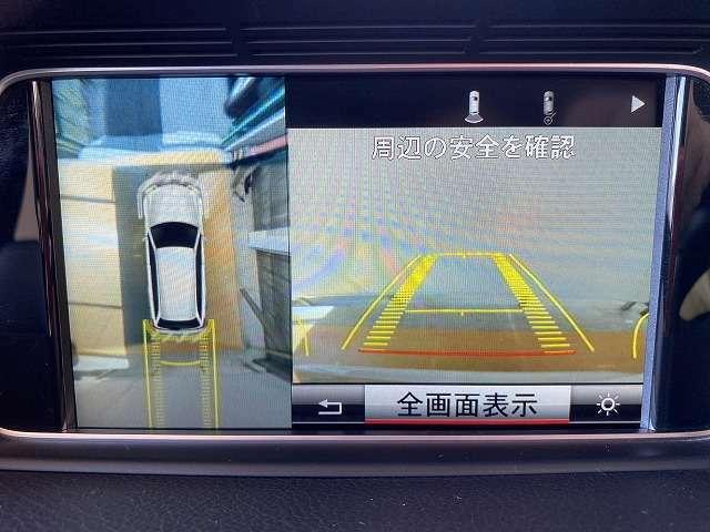 全周囲モニター付き!フロントカメラ&サイドカメラ&バックカメラ等、周囲の安全を確認出来る優れもの!小道から出る場合や、狭い道での幅寄せや車庫入れ等も安心してできますね!