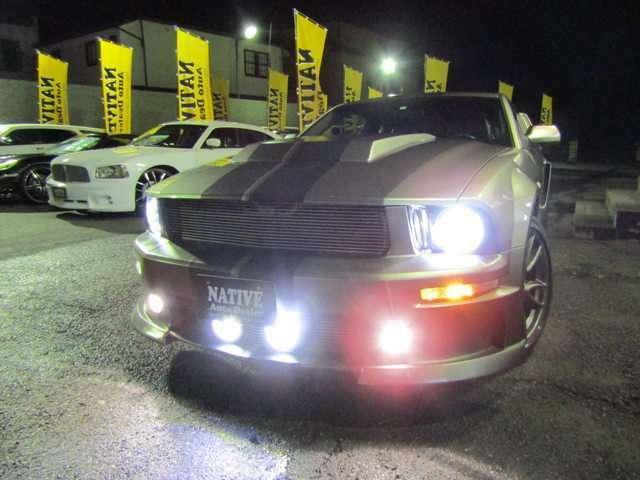 純白HIDヘッドライト&LEDフォグライト!
