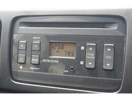 純正ラジオ付きCDプレーヤーを装備♪