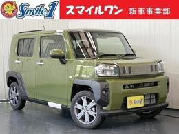 ダイハツ タフト 660 Gターボ 新車/装備10点付 7型ナビ ドラレコ