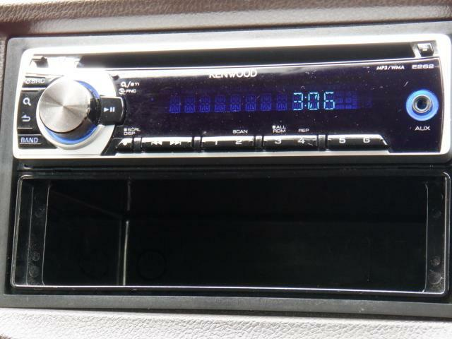 オーディオはAM・FMラジオ・CDが使えます。快適ドライブの強い味方です!