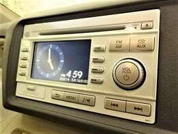 純正CD・ラジオ付きです♪