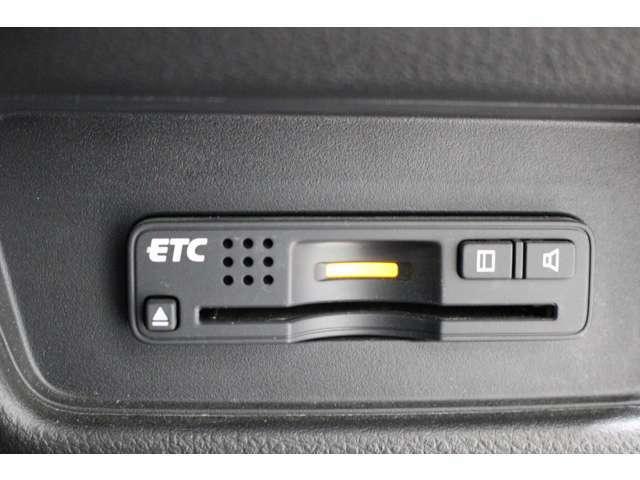 ETCも付いて高速道路料金ゲートもストレスフリーで通過できます!!