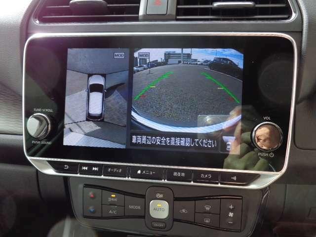 アラウンドビューモニターは車庫入れの強い味方となってくれます。上から車を見下ろすように視ることで、駐車場枠内にビシッと真っ直ぐ停めれます!☆一度使ったらわかって頂けます☆
