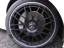 新品C63S仕様19インチアルミホイール!新品コンチネンタルタイヤ!