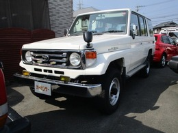 トヨタ ランドクルーザー70 4.2 LX ディーゼル 4WD ロング ETC