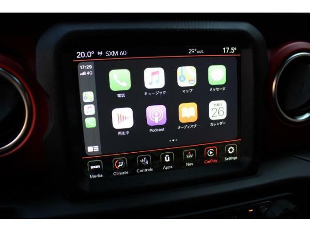 8.4インチタッチスクリーンにはアップルカープレイ、アンドロイドオートに対応しております。