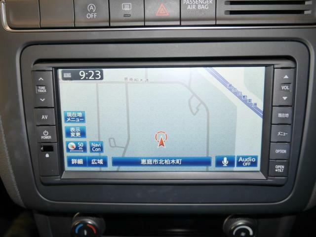 VW純正ナビゲーション612SDCW(SDナビ地デジTVDVD&CDプレーヤーMP3再生ラジオ)