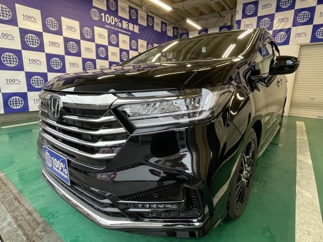 ホンダ オデッセイ 2.4 ABSOLUTE・EX ボディーカラー:プレミアムスパークルブラック・パール