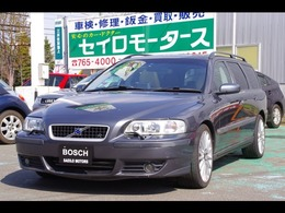 ボルボ V70 R AWD 4WD ベージュ内装