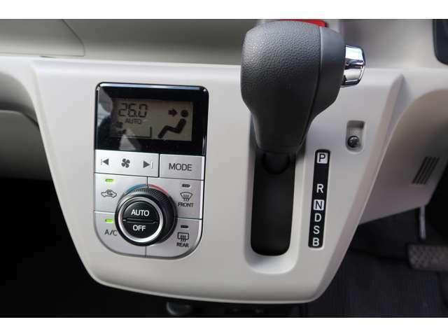 エアコンもオートエアコンの液晶付きです!いつでも見る社内の装備品は良い方がいいに決まってます!