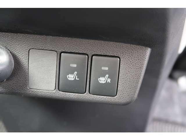 これこれ!シートヒーターが前席に付いています!冬場の燃費に貢献します。