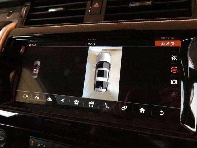 360°サラウンドカメラシステム「こちらのサラウンドカメラの4つのカメラで上から見たような映像が映し出されます。狭い道路や駐車時にあると便利な機能です。」