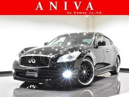 日産 フーガ 2.5 250GT タイプP 黒革 Bluetooth New車高調 New21AW エアロ