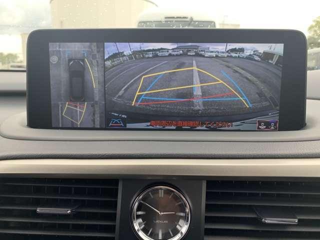 バックカメラ、パノラミックビューモニターを装備しているので駐車時も安心いただけます!