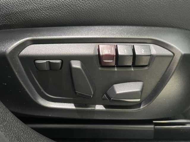 運転席助手席にはパワーシートが付いております。