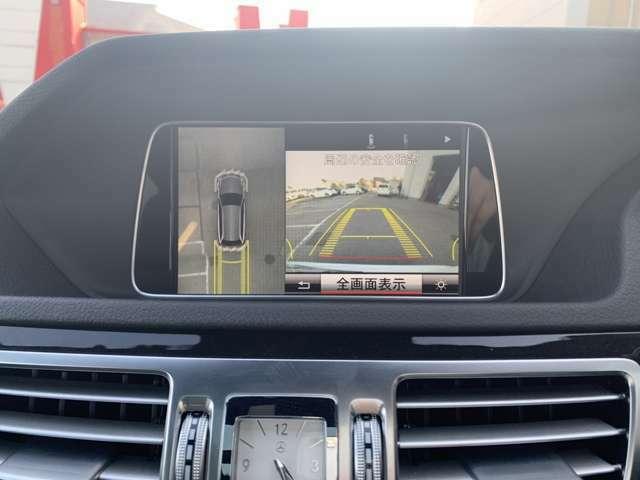 Bモニター&360°カメラ付きなので駐車も安心です!