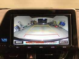【バックカメラ】バックカメラ搭載でドライバーの死角になる後方下をフォロー。