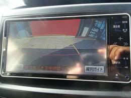 純正ナビ搭載。地デジ・DVD再生対応。バックカメラ搭載ですので駐車も楽々です。